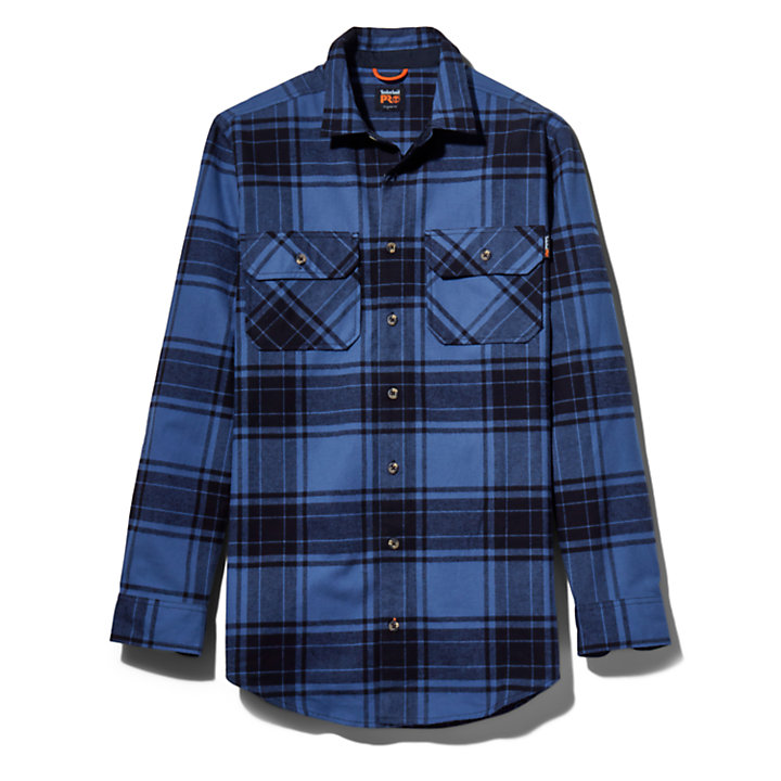Men's Timberland PRO® Big & Tall Woodfort Heavyweight Flex Flannel Work Shirt-