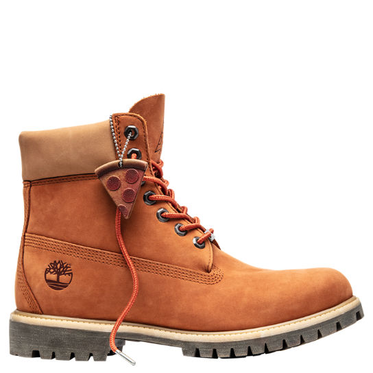 Leather lace up boots Timberland Brown size 37 EU in Leather