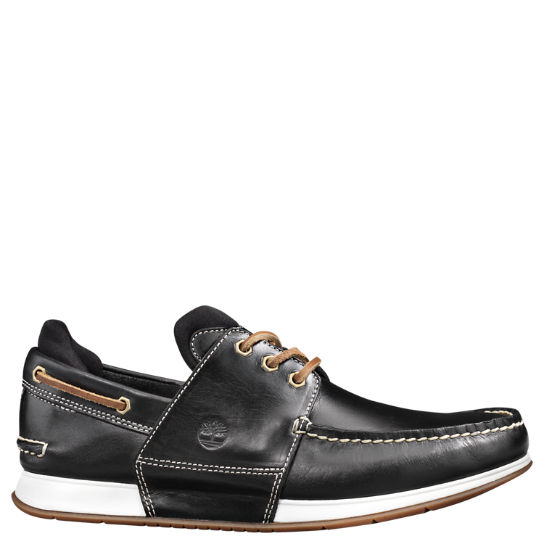 Men's Heger's Bay 3-Eye Boat Shoes