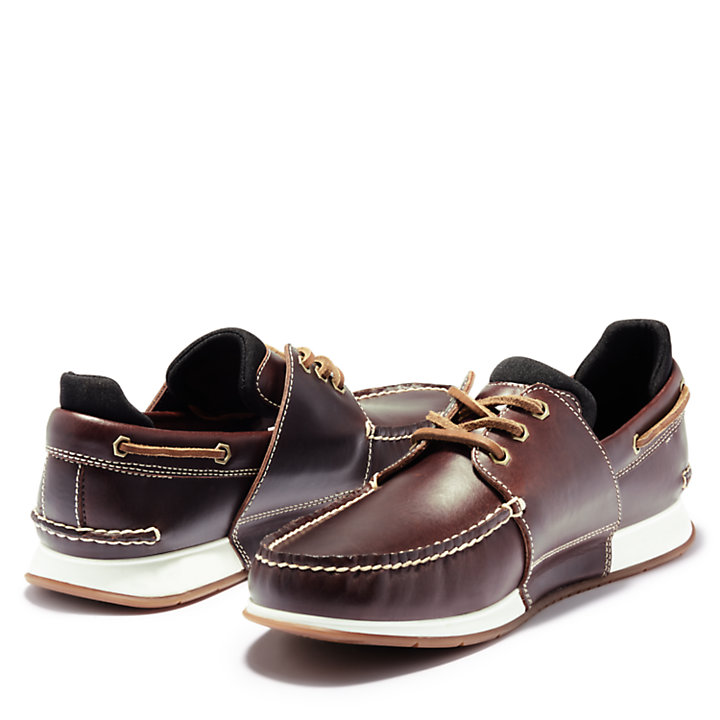 Men's Heger's Bay 3-Eye Boat Shoes-