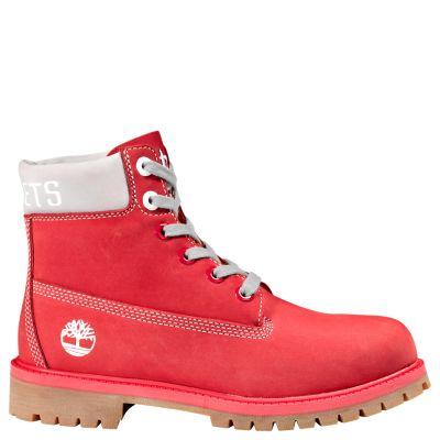 Junior Timberland X NBA Houston Rockets Boots