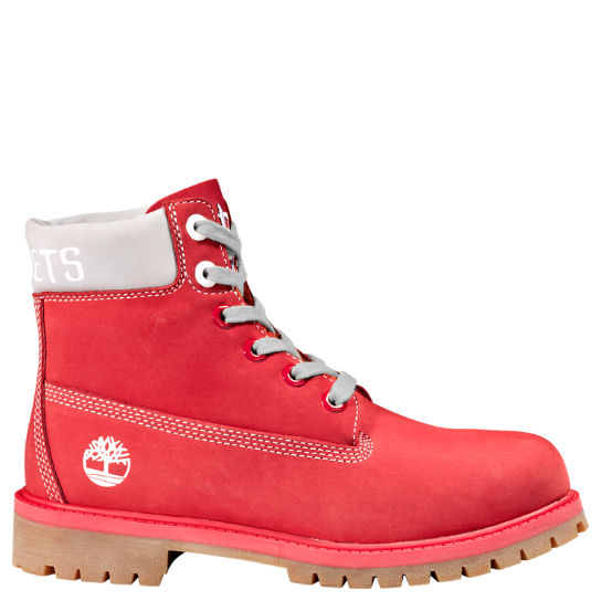 Junior Timberland X NBA Houston Rockets Boots