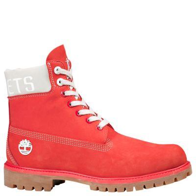 Timberland Men S Timberland X Nba Houston Rockets Boots