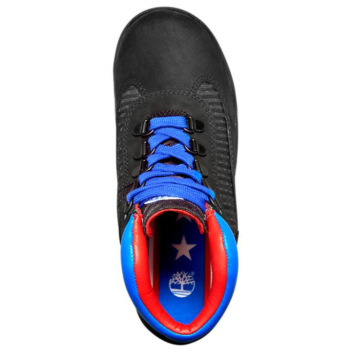 Junior Timberland X NBA Philadelphia 76ers Waterproof Field Boots-