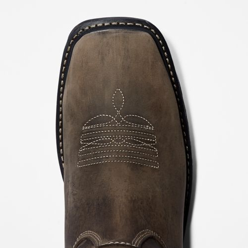 Men's Timberland PRO® True Grit Waterproof Soft-Toe Pull-On Boots-
