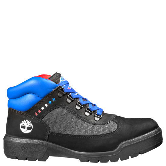 Men's Timberland X NBA Philadelphia 76ers Waterproof Field Boots