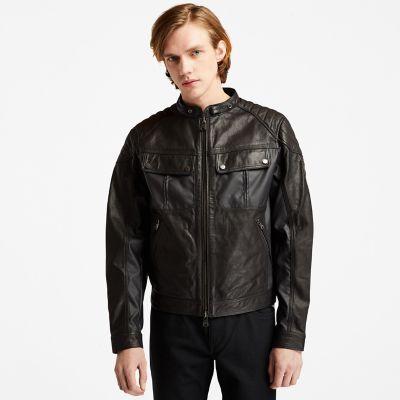 Men's Moto Guzzi x Timberland®Leather Jacket