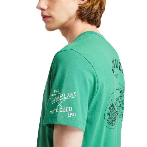 Men's Moto Guzzi x Timberland® Short Sleeve Tee-