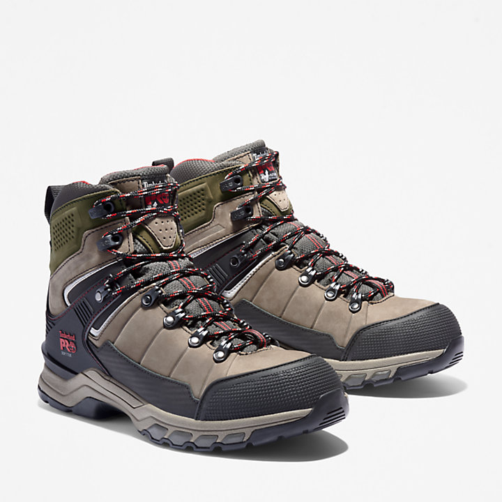 Men's Timberland PRO® Hypercharge TRD Waterproof Soft-Toe Work Boots-