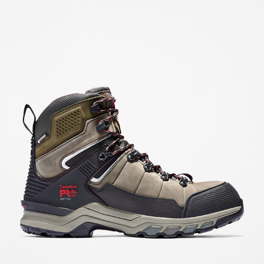 Men's Timberland PRO® Hypercharge TRD Waterproof Soft-Toe Work Boots