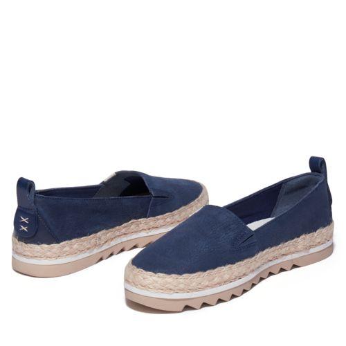 Women's Barcelona Bay Canvas Slip-on Shoes-
