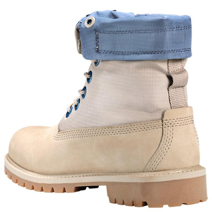 Junior Mixed-Media Gaiter Boots-
