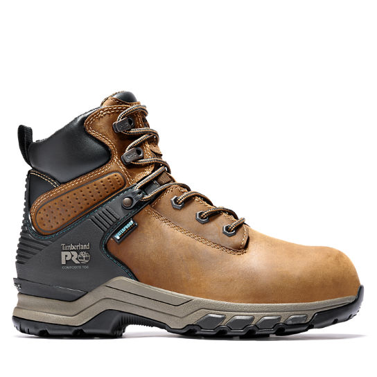 Women's Timberland PRO® Hypercharge 6-Inch Composite-Toe Waterproof Work Boots