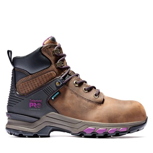 Women's Timberland PRO® Hypercharge 6-Inch Composite-Toe Waterproof Work Boots-