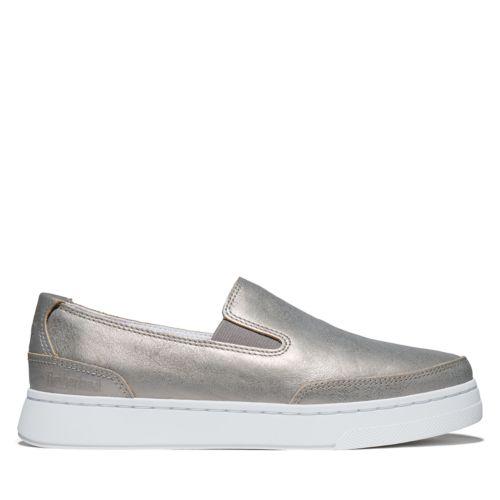 Women's Atlanta Green Slip-on Shoes-