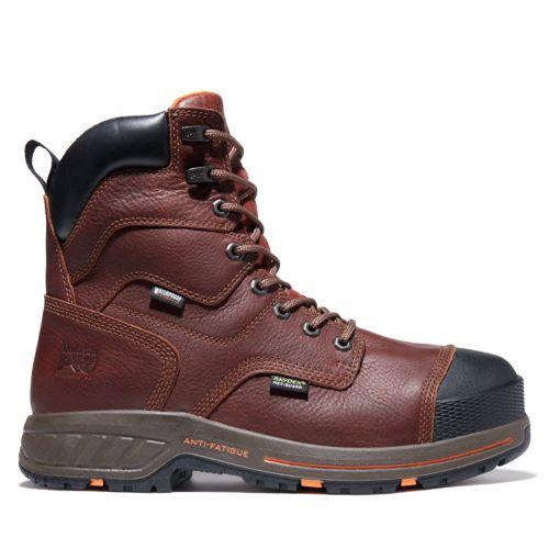 Men's Timberland PRO® Helix 8-Inch Met-Guard Comp-Toe Work Boots-