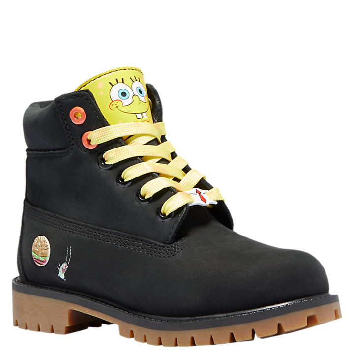 Youth SpongeBob SquarePants X Timberland 6 Inch Waterproof Boots