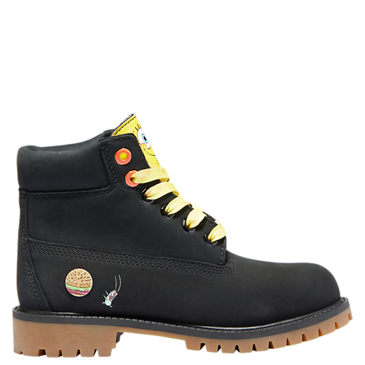 Youth SpongeBob SquarePants X Timberland 6-Inch Waterproof Boots-