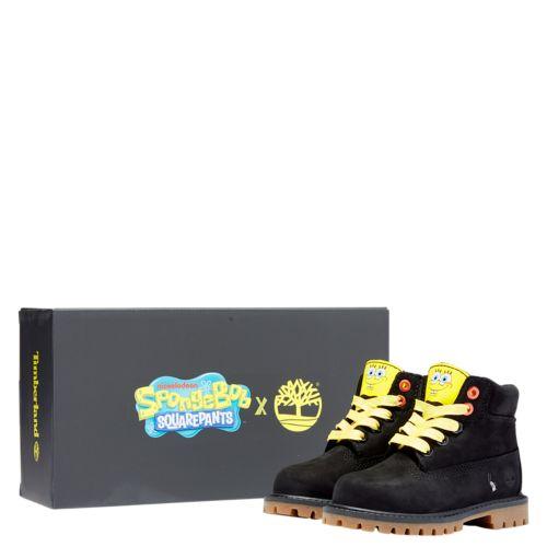 Toddler SpongeBob SquarePants X Timberland 6-Inch Waterproof Boots-