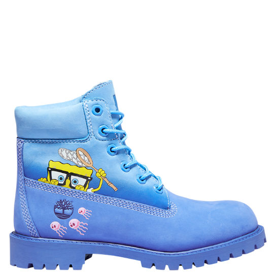 Youth SpongeBob SquarePants X Timberland 6-Inch Waterproof Boots