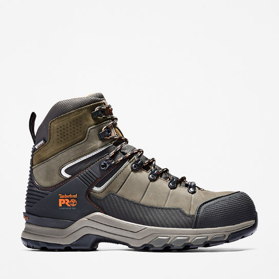 Men's Timberland PRO® Hypercharge TRD Waterproof Composite-Toe Work Boots