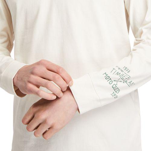 Men's Moto Guzzi x Timberland® Long Sleeve Tee-