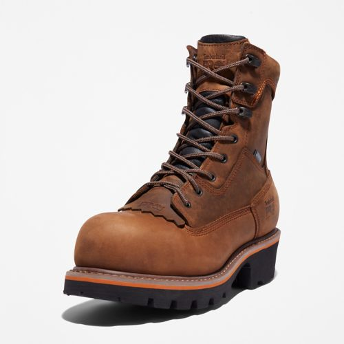 Men's Evergreen Logger Composite Toe Waterproof Work Boot-