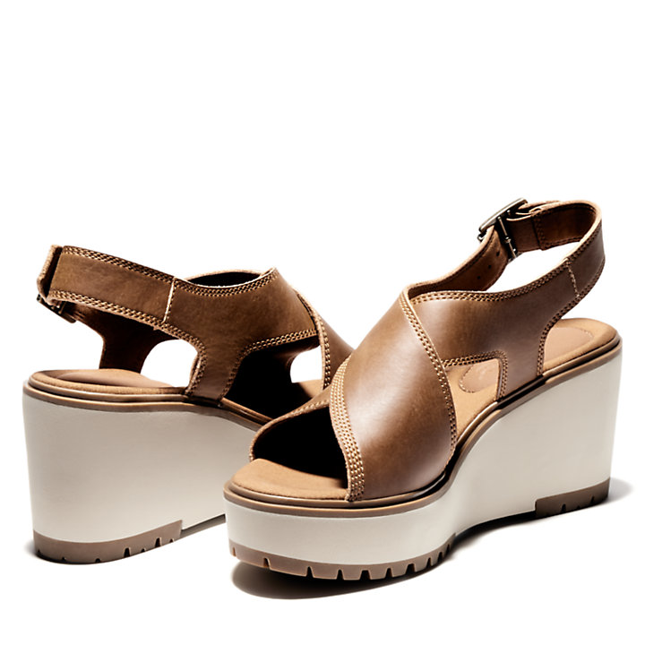Women's Koralyn Cross-Band Wedge Sandals-
