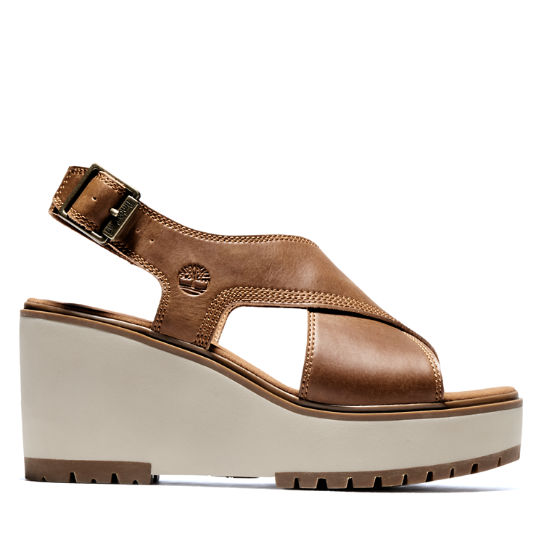 Women's Koralyn Cross-Band Wedge Sandals