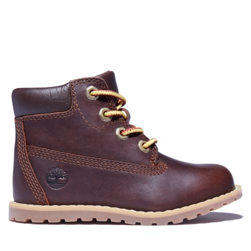 Toddler Pokey Pine 6-Inch Lace Boots-