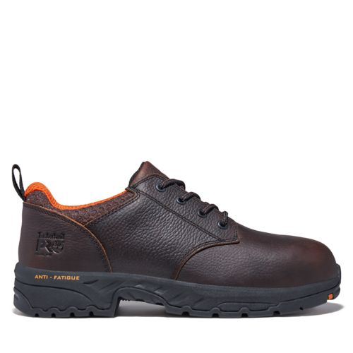Men's Timberland PRO® Band Saw Steel Safety-Toe Oxford Work Shoes-