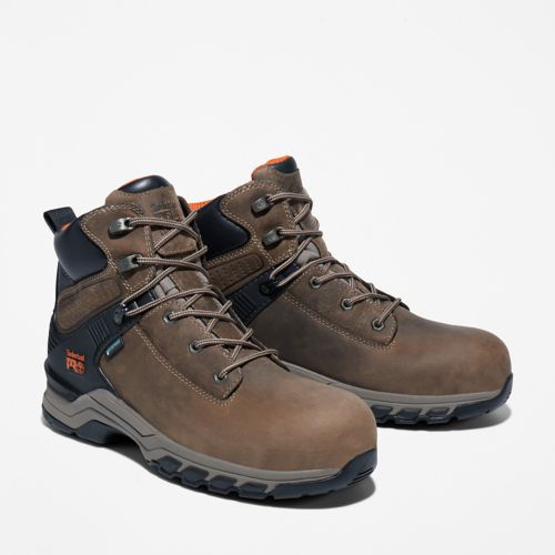 Men's Timberland PRO® Hypercharge 6-Inch Waterproof Comp-Toe Work Boots-
