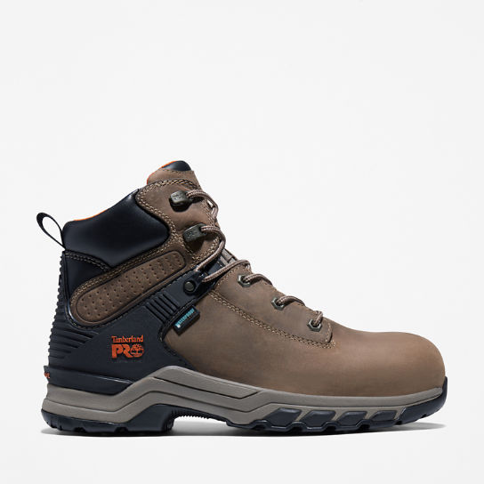 Men's Timberland PRO® Hypercharge 6-Inch Waterproof Comp-Toe Work Boots