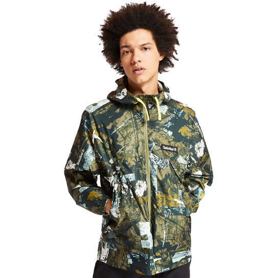 Men's Urban Camo Windbreaker Jacket