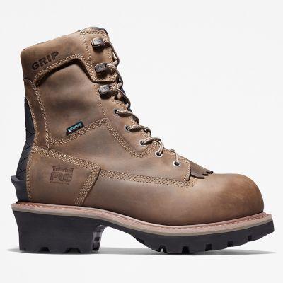 Men's Evergreen Logger Composite Toe Waterproof Work Boot