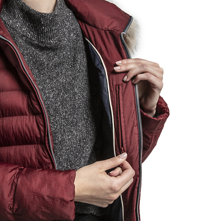 Women's Long Quilted Jacket-