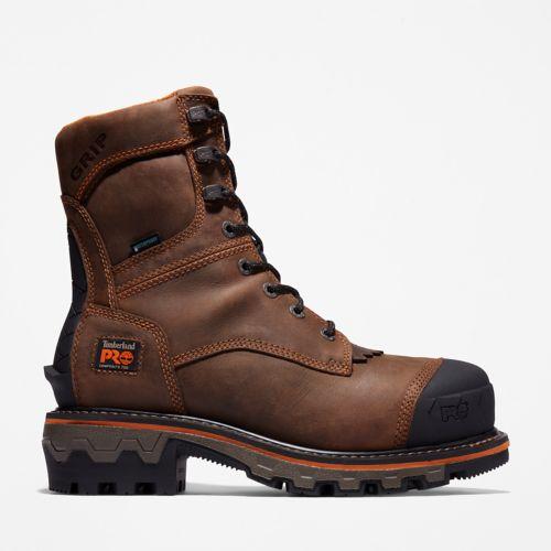 Men's Boondock HD Logger Composite Toe Waterproof Work Boot-