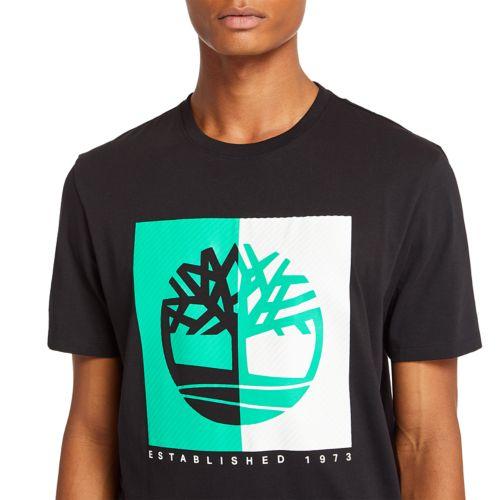 Men's Kennebec River Box Logo T-Shirt-