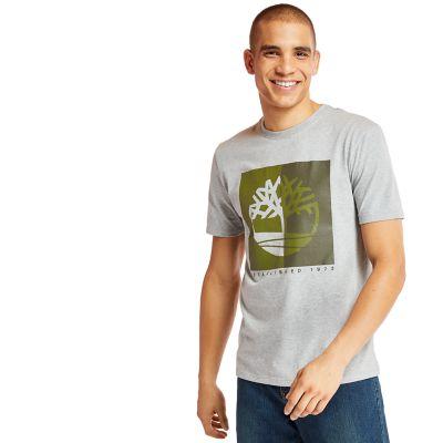 Men's Kennebec River Box Logo T-Shirt