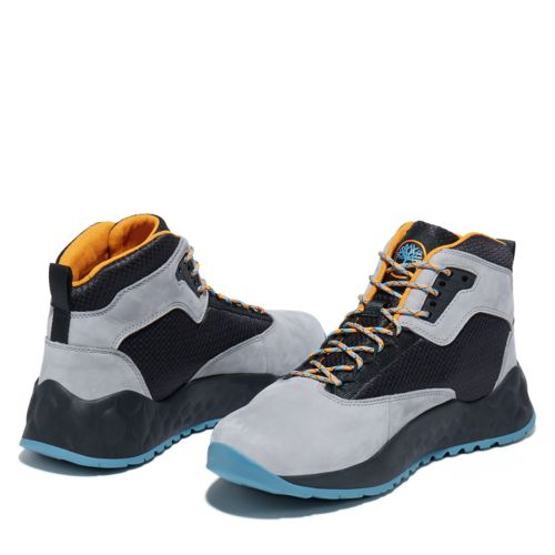 Men's Solar Wave Mixed-Media Sneaker Boots-