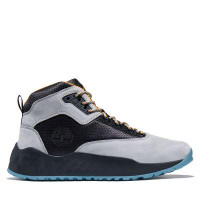 Men's Solar Wave Mixed-Media Sneaker Boots