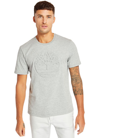Men's Mink Brook 3D Embossed T-Shirt