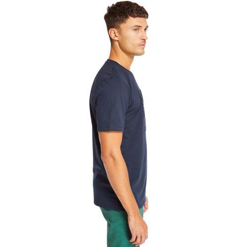 Men's Mink Brook 3D Embossed T-Shirt-