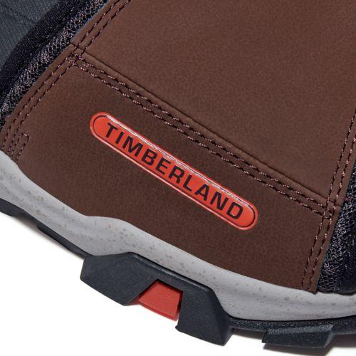 Men's Garrison Trail Mixed-Media Slide Sandals-
