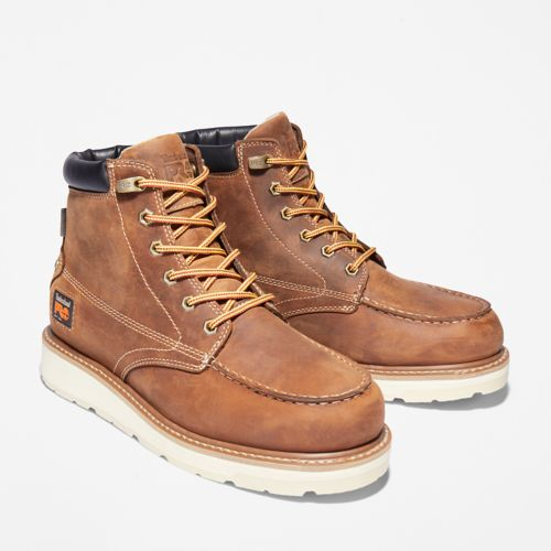 Men's Timberland PRO® Gridworks 6-Inch Waterproof Alloy-Toe Work Boots-