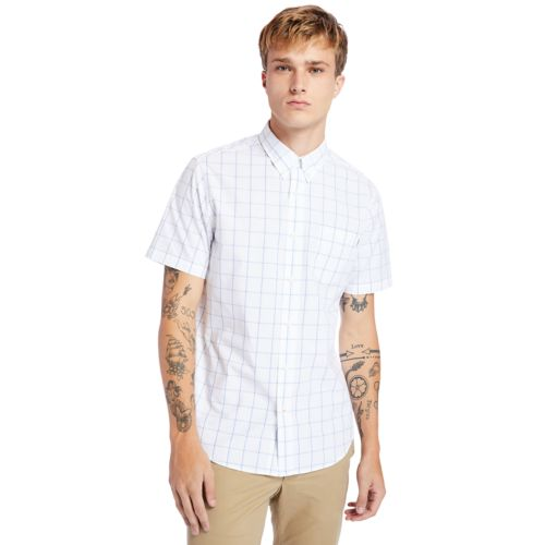 Men's Indian River Short-Sleeve Madras Shirt-