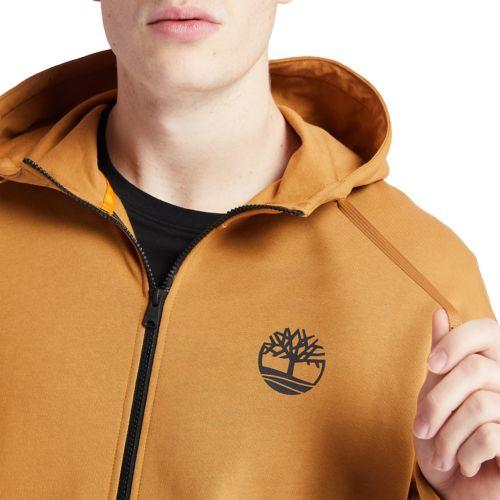 Men's Zip-Front Logo Hoodie Sweatshirt-
