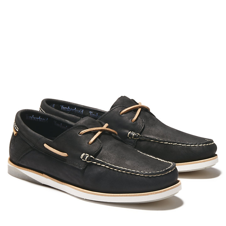 Men's Atlantis Break Leather Boat Shoes-