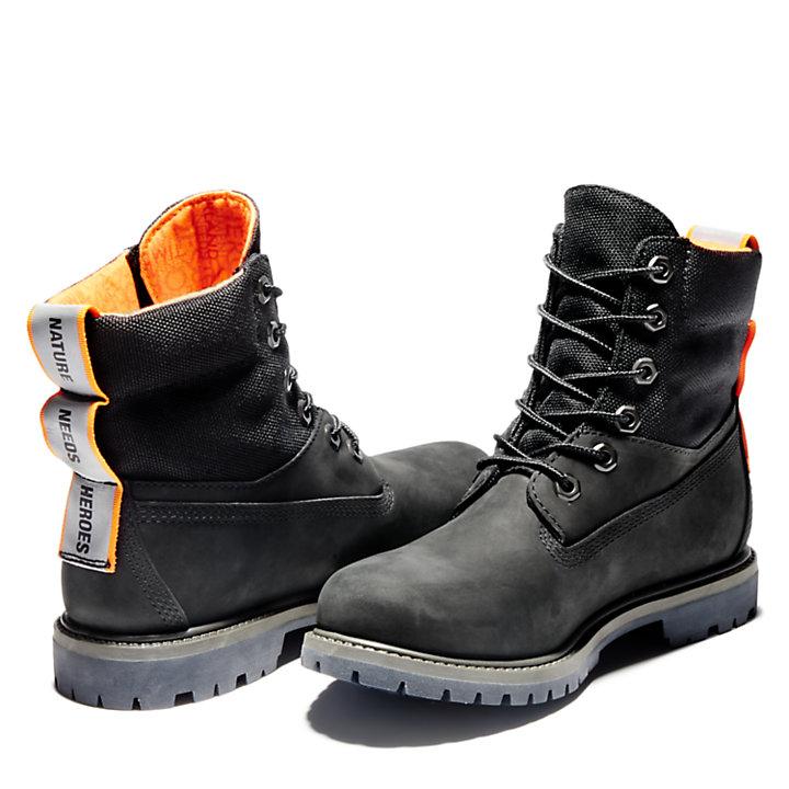 Women's 6-Inch ReBOTL™ Mixed-Media Waterproof Boots-