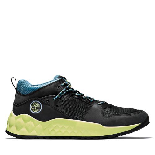 Men's Solar Wave Mixed-Media Sneakers-